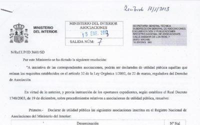 TODO CORAZÓN DE MURCIA,DECLARADA DE UTILIDAD PÚBLICA