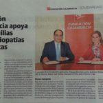 Noticia en La Verdad 2015